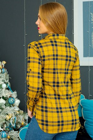 Рубашка Хилари-Ж (Желтый)