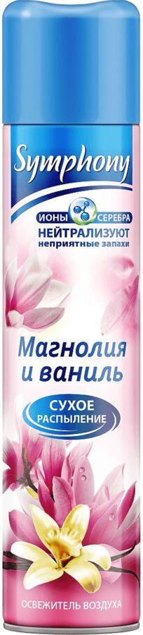NEW Осв.воздуха SYMPHONY Магнолия и ваниль 300см3