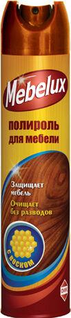 Полироль MEBELUX 300см3 Воск