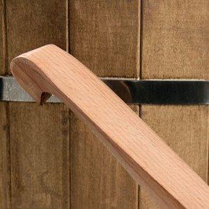 Черпак деревянный, 350 мл, массив бука