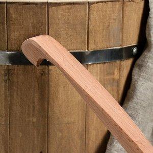 Черпак деревянный, 500 мл, массив бука