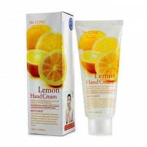 Увлажняющий крем для рук с осветляющим экстрактом лимона Moisturizing Lemon Hand Cream