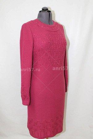 Платье ж0397 св.слива