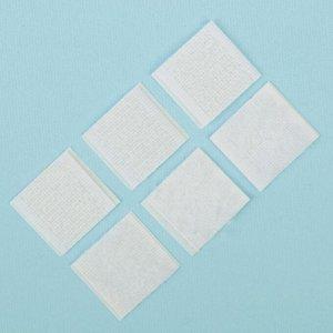 Липучка на клеевой основе «Квадрат», набор 30 шт., размер 1 шт: 2 ? 2 см
