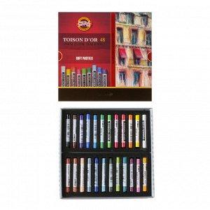 Пастель сухая художественная 48 цветов, Koh-I-Noor TOISON D`OR 8516/48