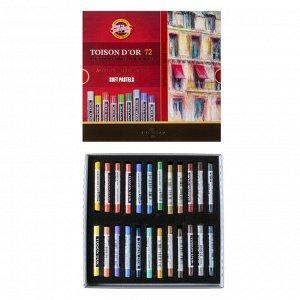 Пастель сухая художественная 72 цвета, Koh-I-Noor TOISON D`OR 8517/72