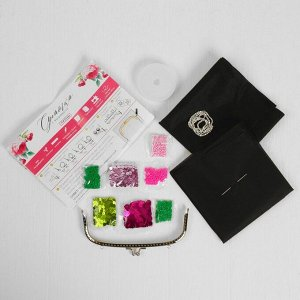 Вышивка бисером на сумке «Пионы». Набор для творчества