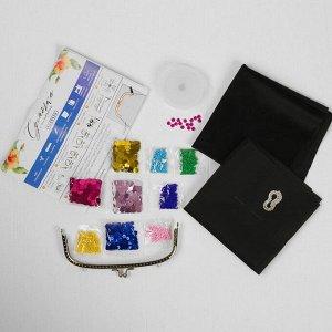 Вышивка бисером на сумке «Колибри». Набор для творчества