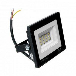 Прожектор светодиодный Luazon Lighting 10 Вт, 800 Лм, 4000К, IP66,  220V