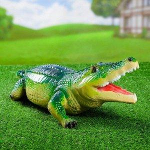 """Садовая фигура """"Аллигатор"""" 60*20*17 см F 01219"""