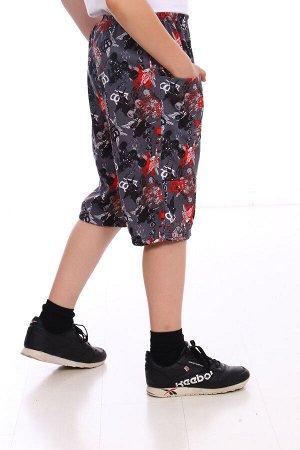 Шорты Состав: хл.92%, лайкра 8%; Материал: Кулирка с лайкрой Удобные шорты на мальчика, хорошо подойдут для дома. Так же в них можно заниматься спортом и надевать на прогулку.