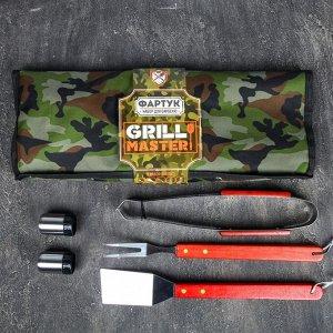"""Фартук """"Grill Master"""", камуфляж, 63 х 43 см"""