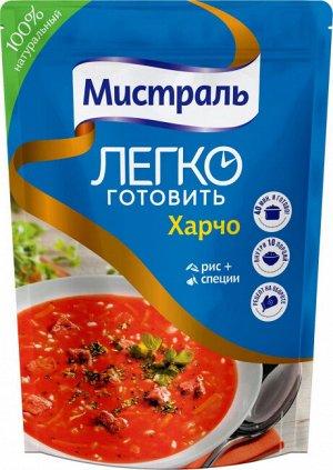 Суп Харчо Харчо — традиционный грузинский суп из говядины с рисом, грецкими орехами и кислым соусом ткемали. Суп очень пряный, острый, с обилием чеснока и зелени и намного гуще, чем прочие супы. Соста