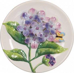 Тарелка настенная декоративная диаметр=20 см.(кор-24шт)