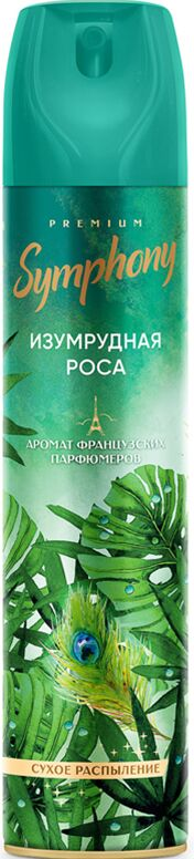 Освежитель воздуха Symphony - «Изумрудная роса» («emerald dewdrop»)  300 см3