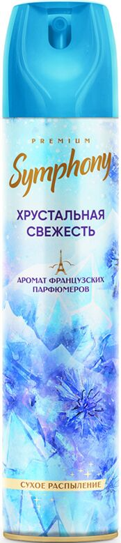 Освежитель воздуха Symphony - «Хрустальная свежесть» («crystal freshness») 300 см3