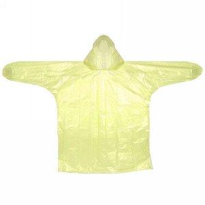 """Дождевик 8 Мкрн 80*110см """"Универсальный"""" с капюшоном, желтый ДоброСад"""