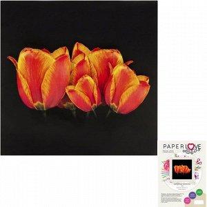 Набор ДТ Папертоль Солнечные тюльпаны 15 х 15 см F0106