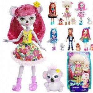 Enchantimals Кукла с питомцем FNH22