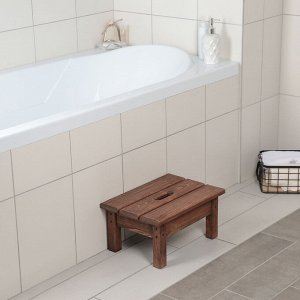 Ступенька для ванной с покрытием, 39?27?19 см