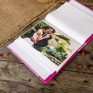 """Фотоальбом на 40 фото 10х15 см """"Фламинго"""" в коробке МИКС 17х14х4,5 см"""
