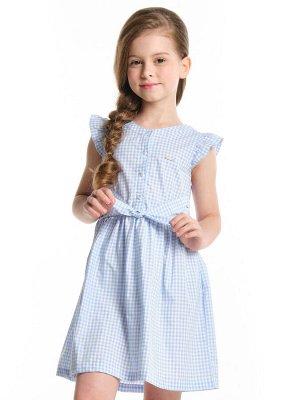 Платье UD 4702 гол.клетка