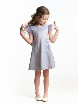 Платье (128-140см) UD 6935(2)серый