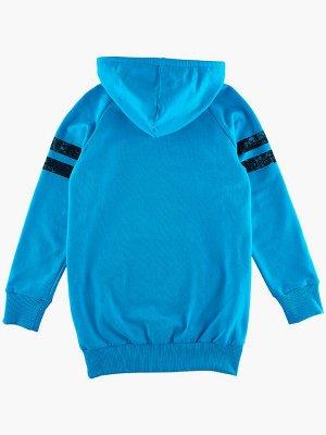 Джемпер для девочки (122-146см) UD 0440(2)голубой