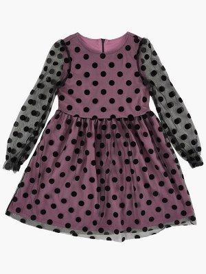 Платье (122-134см) UD 6895(2)слива
