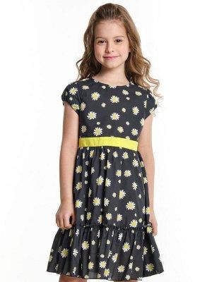 Платье (122-146см) UD 6360(1)ромашки