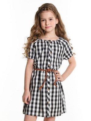 Платье, UD 4503 клетка