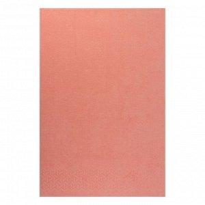 Полотенце махровое Радуга,70х130 см, цвет персик