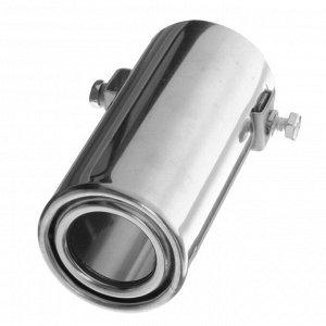 Насадка на глушитель 140х50 мм, 5102
