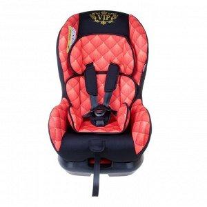 Автокресло Support, группа 0+/1, цвет красный/чёрный VIP