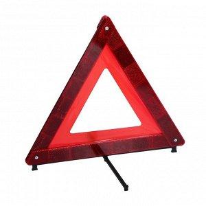 Знак аварийной остановки TORSO, оракал из флуоресцентной пленки, в пластмассовом футляре