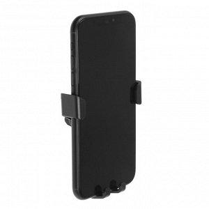 Держатель телефона в дефлектор TORSO, самозажимной захват 6-9.5 см, черный