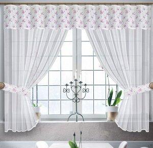 Комплект штор из вуали