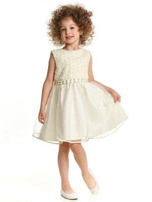 Платье (98-122см) UD 6243(2)крем