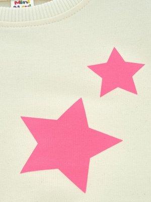 *Джемпер со звездами (98-122см) UD 3978(1)касар