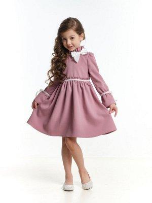 Платье (98-122см) UD 6923(1)т.розовый