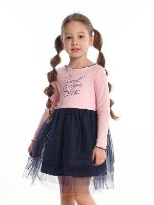 Платье UD 6849 роз/синий
