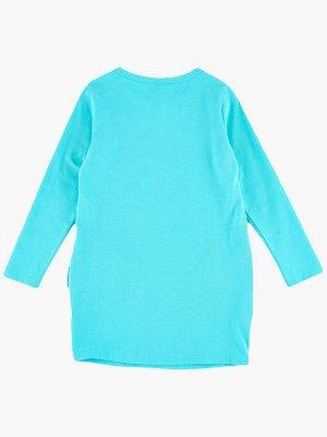 Платье (98-122см) UD 3899(2)бирюза