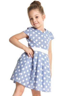 Платье UD 2651 голубой
