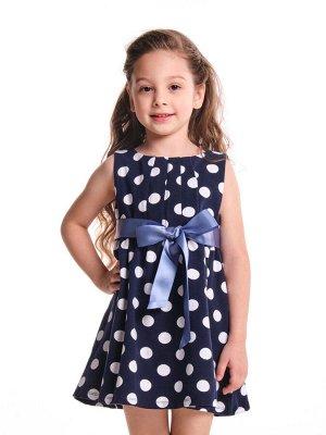 *Платье в горох (92-116см) UD 1252 горох
