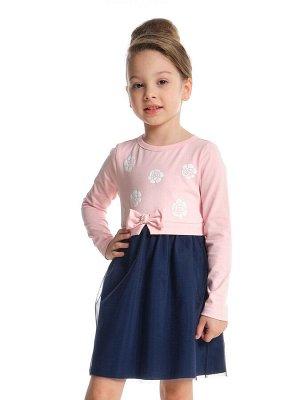 """Платье """"Розы"""" (98-122см) UD 3894(1)розовый"""