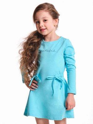 Платье (98-122см) UD 4309(2)бирюза