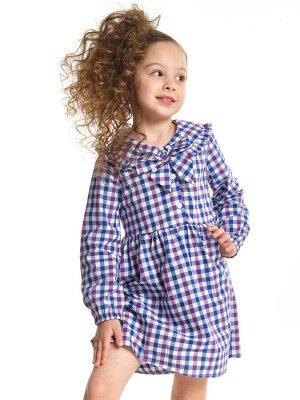 Платье (98-116см) UD 6140(3)cин-лиловый