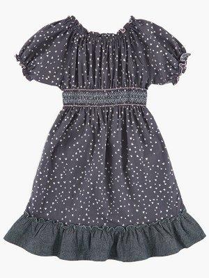 Платье с кармашками (98-122см) 2044