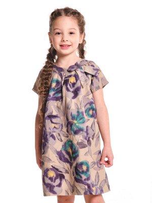 Платье (98-122см) 2118(1)серый