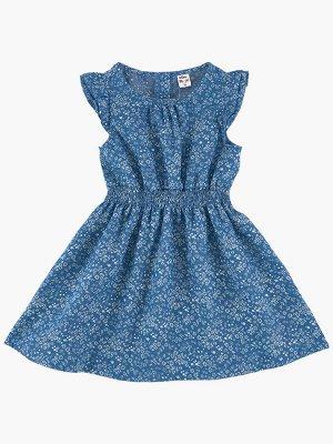 Платье (98-122см) UD 6347(1)дж.цветы